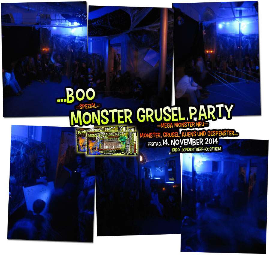 Monstergruselparty