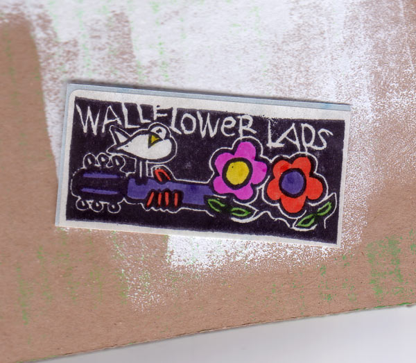 Wallflower Lads . Band Wiesbaden . Sticker . 1991